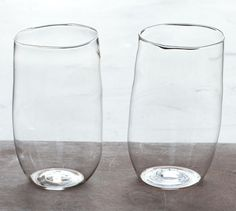 A pair of Malfatti Glasses... imperfectly balanced!