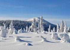 Magic winter in Czech Republic