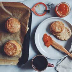 Flakiest Buttermilk Biscuits with Apricot Jam: On Building a Life ...