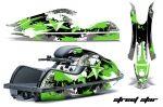 Kawasaki 800 SX-R Jet Ski Graphic Wrap Kit 2003-2012