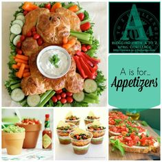 A - Easter Appetizers - Krafty Cards etc