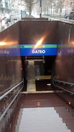 Estação de trem Dateo/ Milão- IT 01/2016