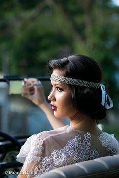 Noivas vintage e boho chic: editorial anos 20 para fazer sonhar! Image: 5