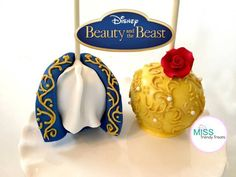 BEAUTY AND THE BEAST CANDY APPLES! - CakesDecor