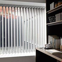 Vertical Blind_Pattie_Chestnut_Office