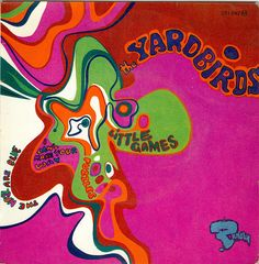 ☮ American Hippie Music Cover Psychedelic Art ~ The Yardbirds, 1967