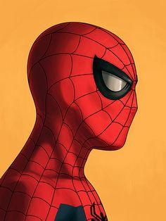 Marvellous Marvel Portraits - Spidey