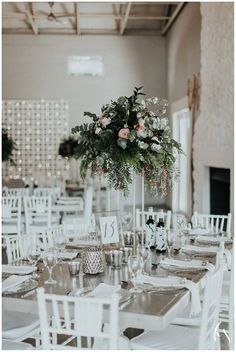 Such an absolutely gorgeous wedding at The Orchards. Soft and whimsical arrangements atop gold stands . Nostalgia Photography, Orchards, Floral Style, Absolutely Gorgeous, Blush Pink, Greenery, Whimsical, Colours, Table Decorations
