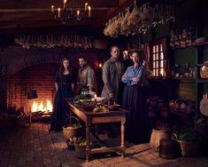 First Look: Scenes from Outlander Season Five Starring Sam Heughan and Richard Rankin Jamie And Claire, Bear Mccreary, Starz, Outlander Starz, Bts Photo, Richard Rankin