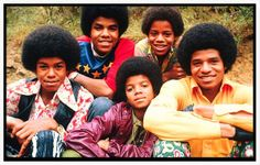 The JACKSON 5...Jermaine, Tito, Michael, Marlon and Jackie