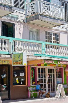 San Pedro Town, Belize by AJ Baxter