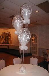 Balloon Decorations and balloon Centerpieces
