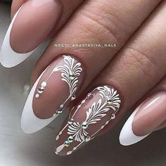 The Best Nail Trends & Colors for Spring 2019 Cute Acrylic Nail Designs, Cute Acrylic Nails, Cool Nail Designs, Gorgeous Nails, Love Nails, Fun Nails, Simple Toe Nails, Magic Nails, Nagellack Trends