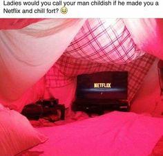 Netflix fort!
