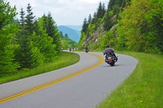 Heading towards Cherokee from the highest point on the Blue Ridge Parkway, the road descends to Waynesville, then climbs again to Soco Gap just outside Maggie Valley. This is a nice section for sunset photos as the road is running more north / south. Very wild country surrounding the high parts. http://smokymountainrider.com http:smokymountainrider.com