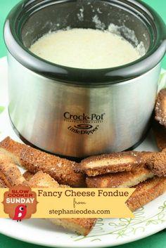 Crockpot fondue recipe - Slow Cooker Sunday - Today's Creative Blog