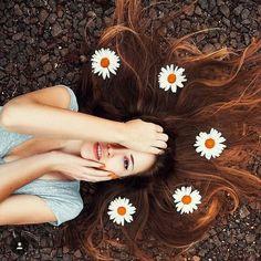 Inspiration fr Sommer Fotos - Mit Blumen als Sho.