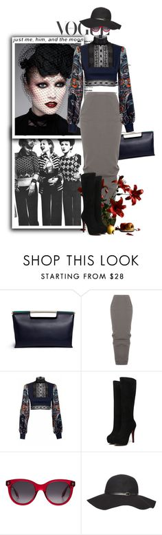 """Simple Dreams"" by terrelynthomas ❤ liked on Polyvore featuring NARS Cosmetics, Delpozo, Rick Owens, JIRI KALFAR, Alexander McQueen, Dorothy Perkins and maxiskirtandboots"