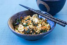 Farro Stir Fry w/ Chicken and Vegetables