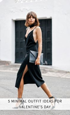 Valentine's Day is probably the most fashionable holiday in the calendar. And here are some outfit inspiration that are on the more subtle side.