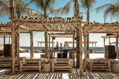 scorpios mykonos beach club, mykonos, greece