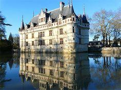 Castello di Azay-le-Rideau - Castelli della Loira - Francia