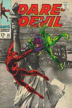 Daredevil # 45 by Gene Colan & Frank Giacoia