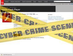 Muralha Informática: Falsa Pagina Adobe Flash Player 12.7.700.169 - Não...
