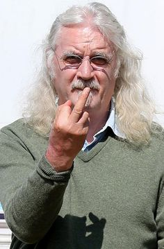 Billy Connolly, love this guy ! British Comedy, British Actors, The Only Way, Are You The One, Billy Connolly, Men Are Men, Funny People, Funny Men, Music Tv