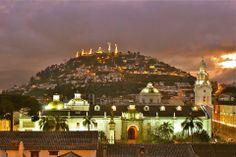 Quito, Ecuador at Christmas