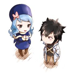 Fairy Tail Juvia and Gray