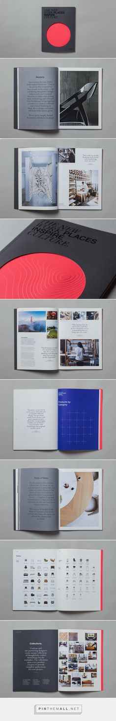 Coalesse Brand Brochure on Behance - created via https://pinthemall.net