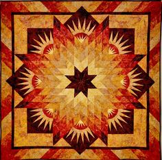 Summer Solstice, Quiltworx.com, Made by CI Maureen Wood.