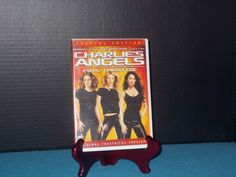 2 Dvd's  Charlie's Angels Full Throttle Dvd 2003 and The Tourist