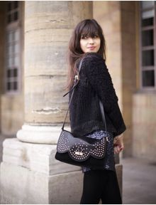 Rock the Betty Autier - Le blog de Betty bag by Lancaster Paris ! Fall Winter, Autumn, Winter Style, Lancaster Paris, Back To Black, Winter Fashion, Goth, Street Style, Crime