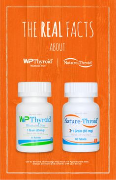 Get the real facts about WP Thyroid and Nature-Throid