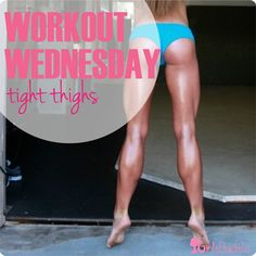 Get tight thighs for summer with this workout!