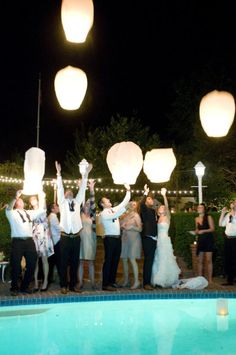 Backyard Danville Wedding from Angie Silvy Photography Floating Lanterns, Sky Lanterns, How We Met Stories, Good Marriage, Wedding Moments, Event Design, Big Day, Wedding Photos, Wedding Ideas