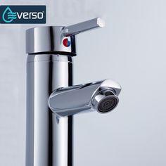EVERSO Basin Faucet Bathroom Sink Faucet Single Handle Hot Cold Water Bathroom Sink Tap Torneira Do Banheiro