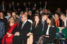 Princess Mary attended a conference on science and technology in Copenhagen.