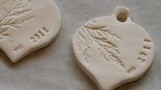 MY CREATIVE SPACE…clay decorations