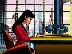 Lois Lane typing