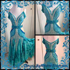 Live The Fantasy! CLASSIC BALLROOM ELEGANCE - Luxury Ballroom Dresses, Custom Designs, Consignments and Exquisite Rentals Http://www.cberentals.com
