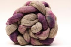 Hand Dyed Roving Handpainted Wool Merino BM02a