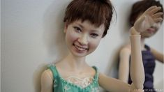 """3DDollClone -- Dolls """"cloned"""" using 3d imaging of real people's heads. These dolls are seriously creepy."""