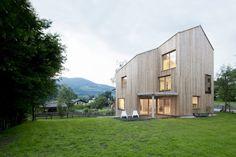 Casa di legno dal design moderno n.15