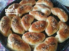 Kabardıkça Kabaran Labneli Poğaça Tarifi – Videolu - Nefis Yemek Tarifleri Turkish Recipes, Tea Time, Hamburger, Bread, Food, Essen, High Tea, Meal, Hamburgers