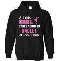 All this girl cares about is ballet
