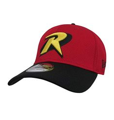 DC Comics Robin Logo Symbol Red 39Thirty Cap Review
