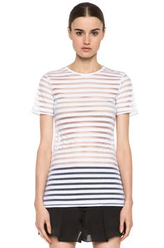 Translucent stripe Alexander Wang tee perfection!